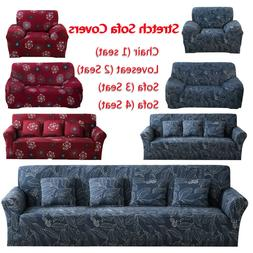 1/2/3/4 Seater Soft Heavyweight Microsuede Cover Slipcover S