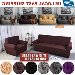 1-4 Seater Comfortable Stretch Elastic Fabric Sofa Cover Sec