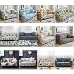 1-4 Seaters Sofa Cover Removable Stretch Fabric Sectional Co