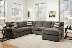 2-Pc Perth Smoke Right Side Facing Sectional