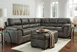 2 pc sectional in gray id 3820516