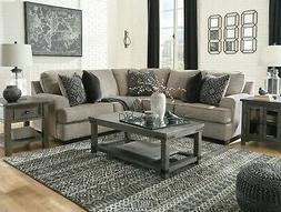Ashley Furniture 2 Piece Bovarian Sectional