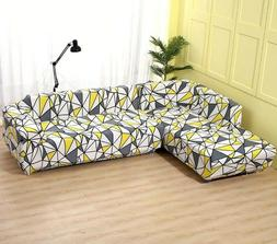 2 pieces Covers For Corner Sofa Living Room Sectional Univer