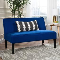 Christopher Knight Home 299847 Dejon Loveseat, Royal Blue