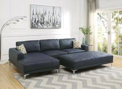2pcs Sectional Sofa Unique Modern Right Facing Chaise Left S