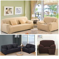 1 2 3 4Seater Stretch Elastic Fabric Sofa Cover Sectional Co