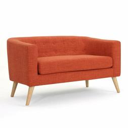 Christopher Knight Home 301294 Bridie Loveseat, Muted Orange