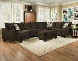 4-Pc Left Side Facing Sectional