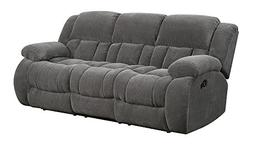 Coaster Home Furnishings Weissman Pillow Padded Motion Sofa