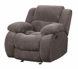 Coaster Home Furnishings 601923 Glider Recliner Charcoal NEW