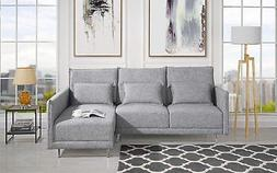 "87.8"" inches Sectional Sofa with Right Facing Chaise, Accent"