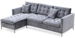 94.5 in. Sectional Sofa with Chaise