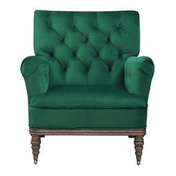 Abbey Avenue A-KAL-294AC Kallie Accent Chair  Emerald