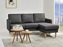 Gold Sparrow ADC-FER-SEC-NMX-CIN Fernley Sectional, Cinder