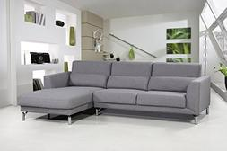 Container Furniture Direct Aria Collection Linen Fabric Upho