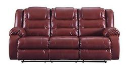 Ashley Vacherie 79306 Reclining Sectional Sofa in Salsa Cont