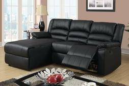 Case Andrea Milano Bonded Leather Sectional Sofa with Single