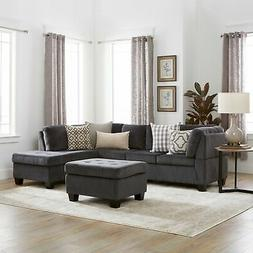 Canterbury 3-piece Fabric Sectional Sofa Set by Christopher