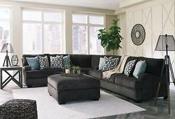 Ashley Furniture Charenton 3 Piece Sectional Charcoal Color