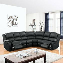 Divano Roma Furniture Large Classic and Traditional Bonded L