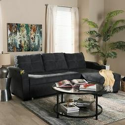 contemporary reversible sectional sofa by
