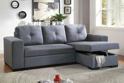 Convertible Reverisble Sectional Sofa