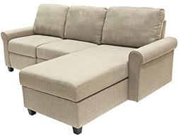 Serta Copenhagen Reclining Sectional with Left Storage Chais