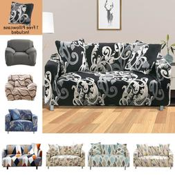 Decorative Stretch Sofa Cover 1 2 3 4 Seater Couch Elastic S