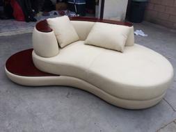 VIG Furniture Divani Casa Rodus - Rounded Corner Leather Sec