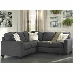 "FLASH FURNITURE FSD-1669SEC-2PC-CH-GG Sectional, 37-1/2"" to"