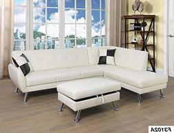 Lifestyle Furniture Left Facing 3PC Sectional Sofa Chaises S