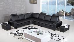 haverhill collection modern bonded leather