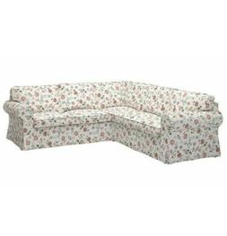 Ikea EKTORP Cover Only For Sectional 4 Seat Corner Sofa Slip