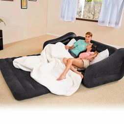 Inflatable Couch Bed Sofa Sectional Sleeper Futon Living Roo