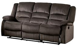 Homelegance Jarita Reclining Sofa Polyester Fabric Cover, Ch