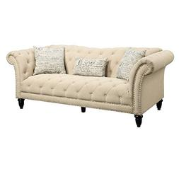 Abbey Avenue L-ASH-082SF Ashlea Sofa with French Script Pill