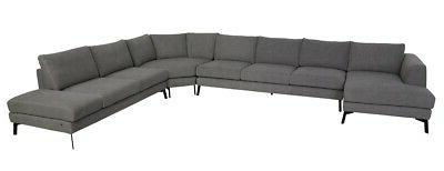 158 w large sectional sofa laf chaise