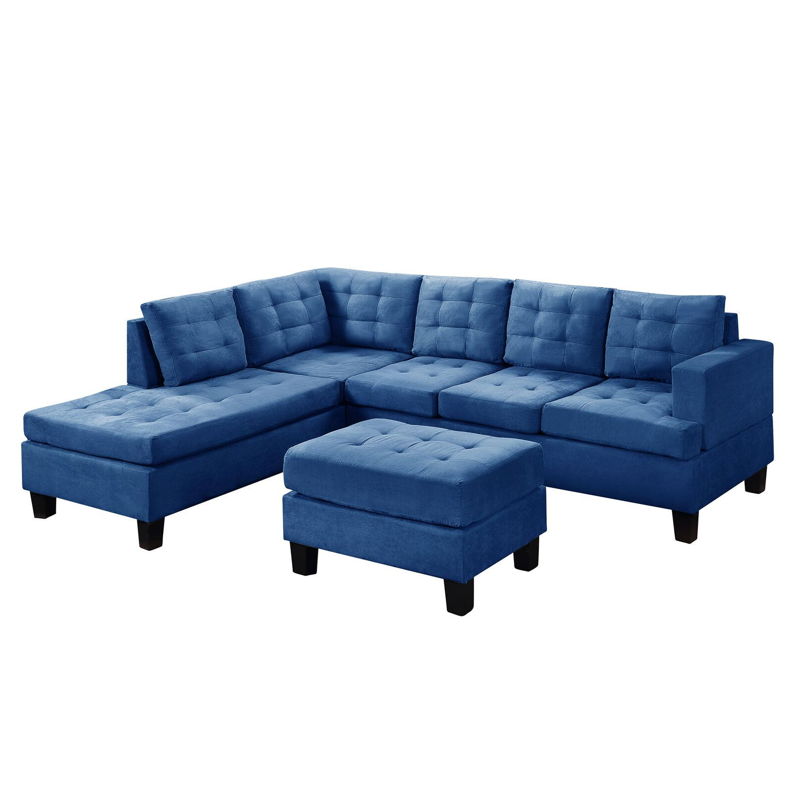 3-Piece Lounge L-Shaped Couch