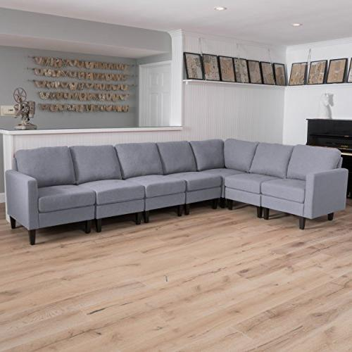 Christopher Sectional Light Grey