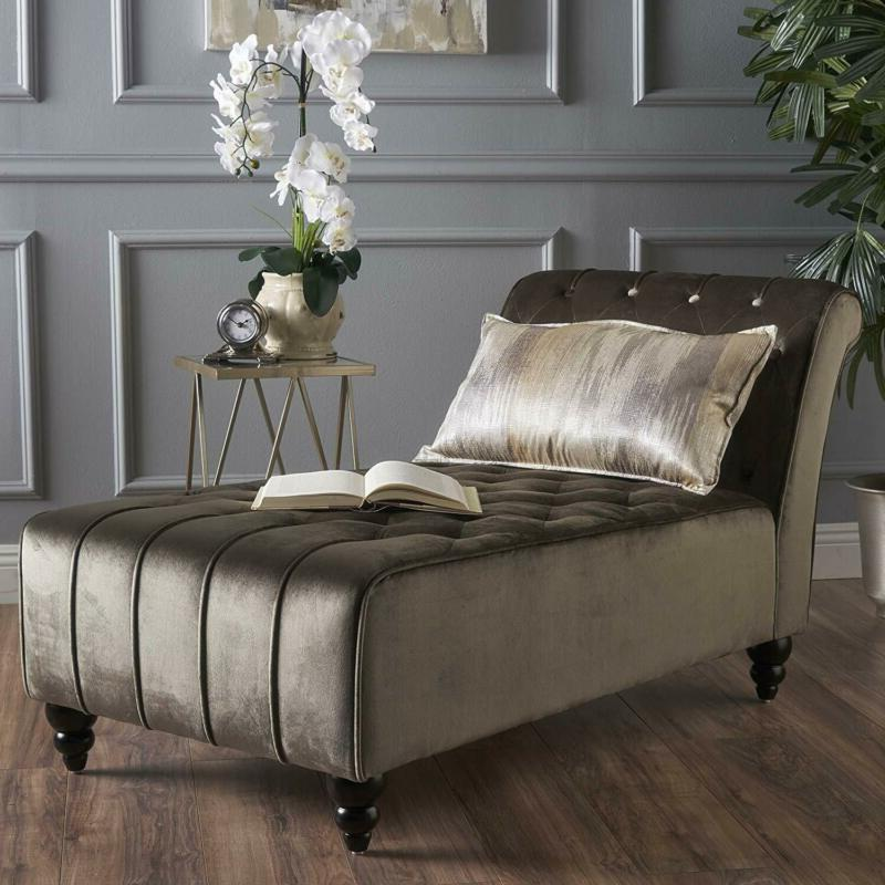 Christopher Knight Home 301263 Rubie Chaise Sofa, Grey