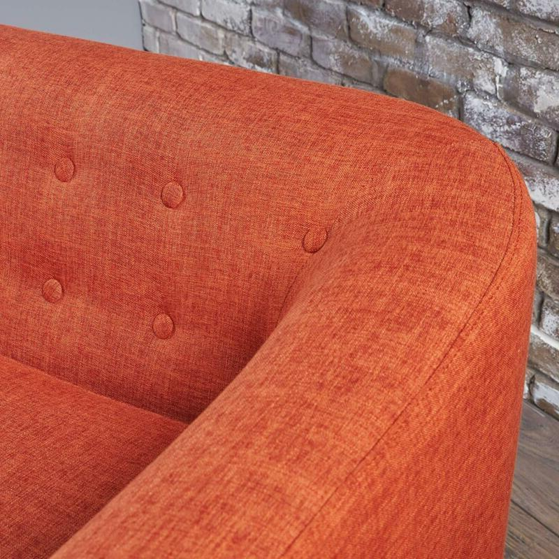 Christopher Home 301294 Bridie Muted Orange