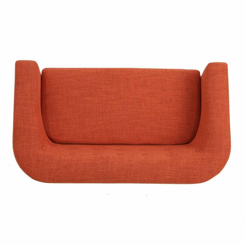 Christopher Bridie Loveseat, Orange