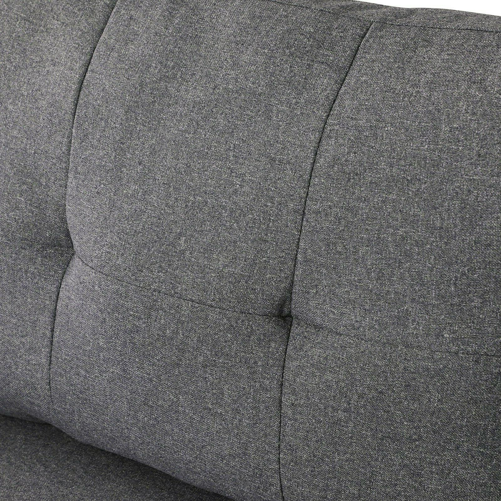4-Seaters Storage Pillows Upholstered Fabric
