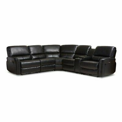 5 pc power reclining sectional sofa