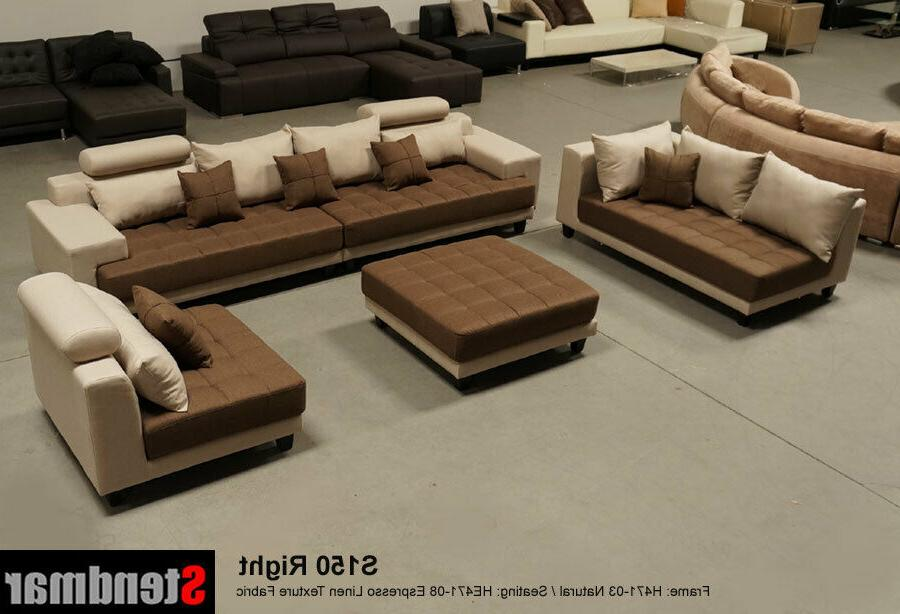5-Piece Contemporary Sofa