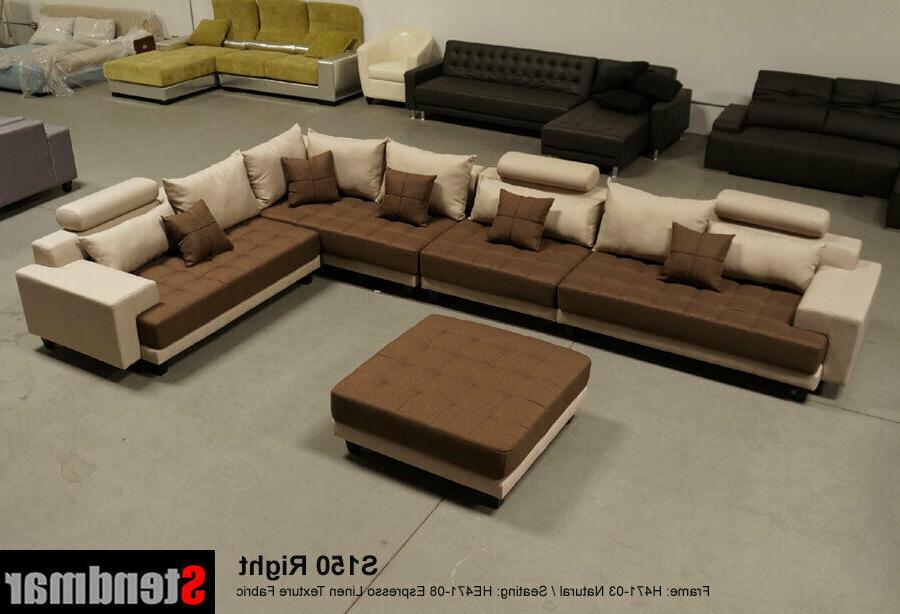 5-Piece Contemporary Fabric Sofa Set S150RG