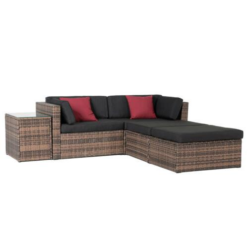 & Sectional Cushioned