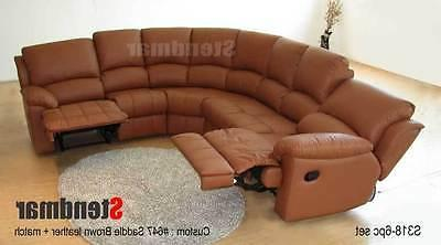6PC NEW LEATHER SECTIONAL