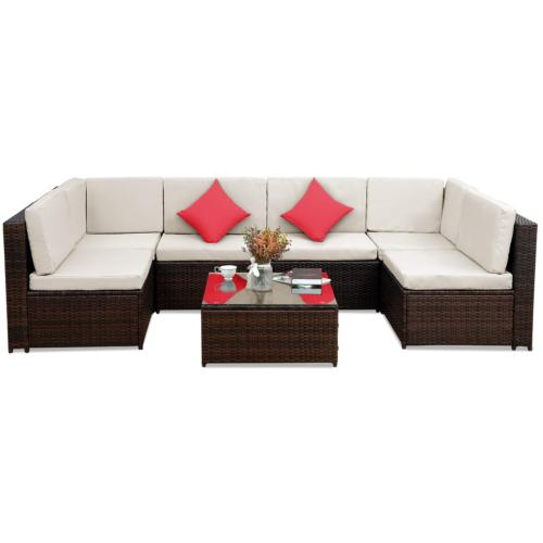 Sectional Home Patio Black