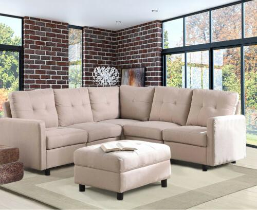 7-Piece Sectional Couch